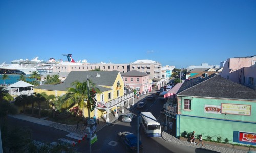 View From Downtown Nassau Office Rental